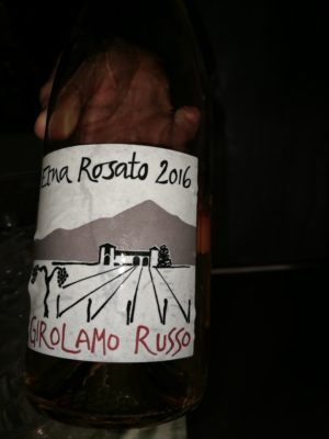 Etna rosato 2016 - Girolamo Russo