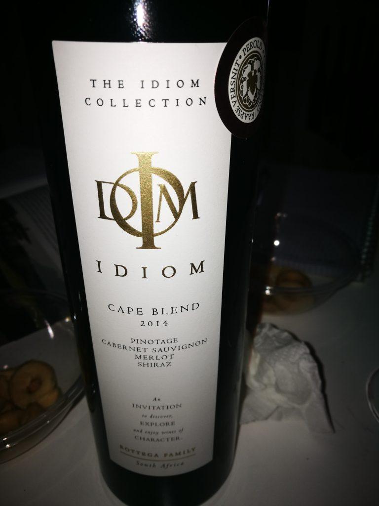 Cape Blend 2014 - IDIOM - Stellenbosch - Pinotage, Cabernet Sauvignon, Merlot, Shiraz