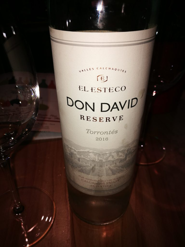 Torrontes - Don David Reserve 2016 - Elesteco