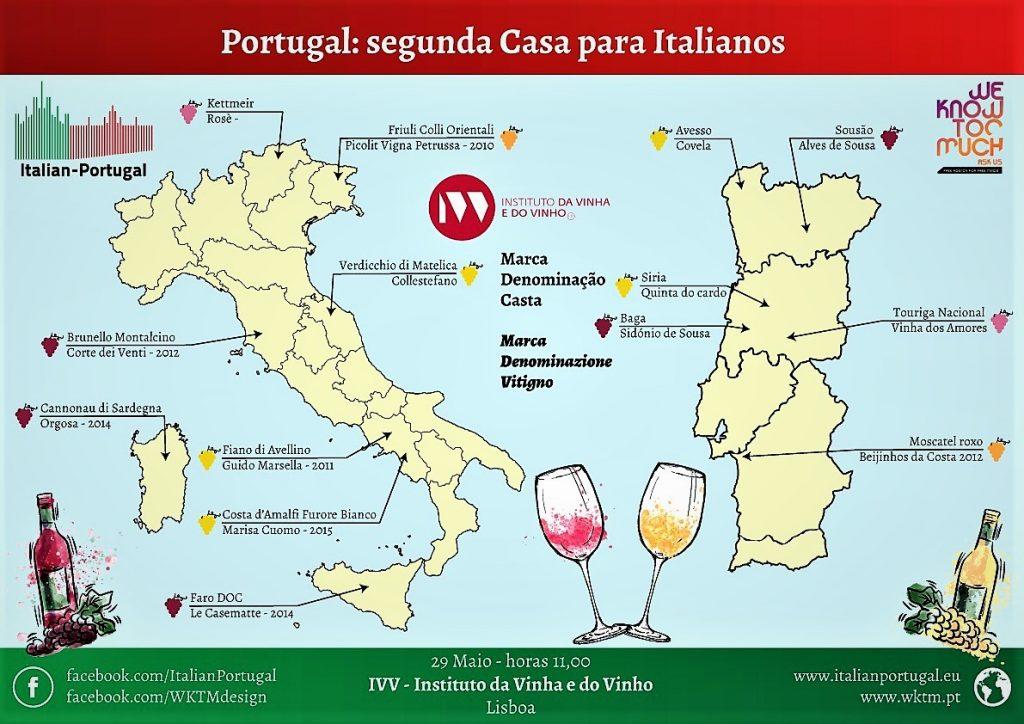 locandina del'evento in Portogallo