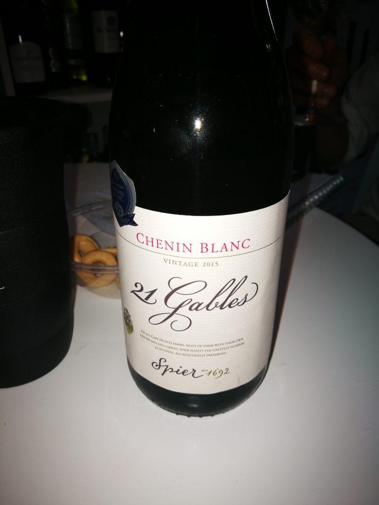Spier 21 Gables Chenin Blanc 2015 - Spier Wines -Stellenbosch