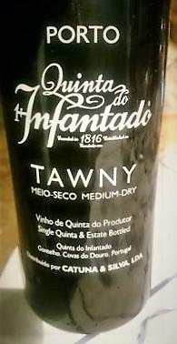 Porto Tawny Quinta do Infantado meio-seco – Quinta do Infantado
