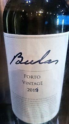"""Porto Vintage """"Bulas"""" 2014 – Bulas wines"""
