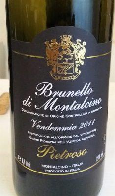 Brunello di Montalcino 2011