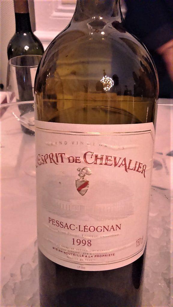 Esprit de Chevalier Bianco 1998