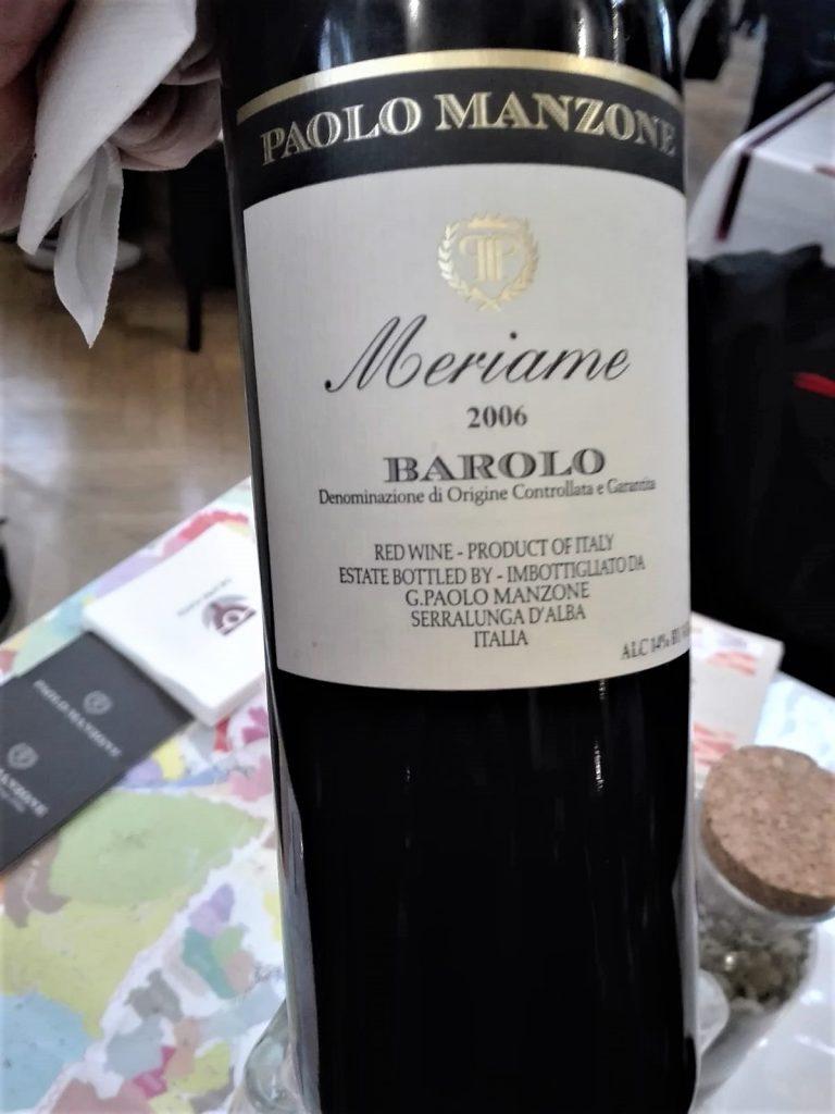 Barolo Meriame 2006