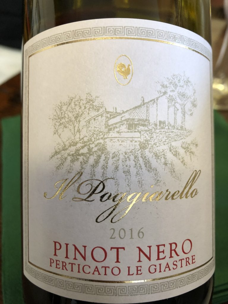 Emilia IGT Pinot Nero 2016 Perticato Le Giastre