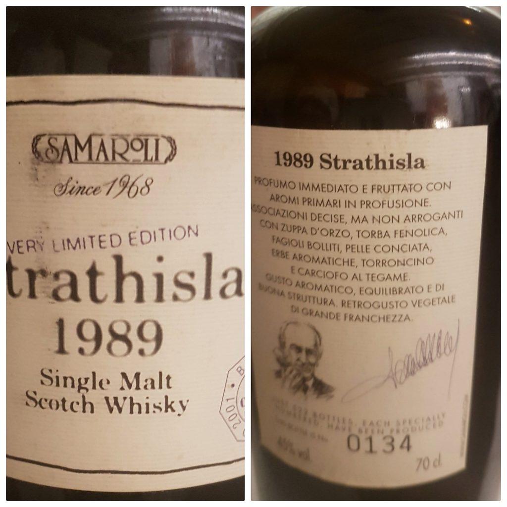 STRATHISLA 1989