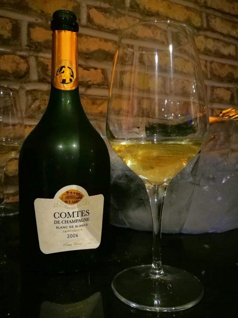 """Champagne Blanc de Blancs Brut """"Comtes de Champagne"""" 2006"""