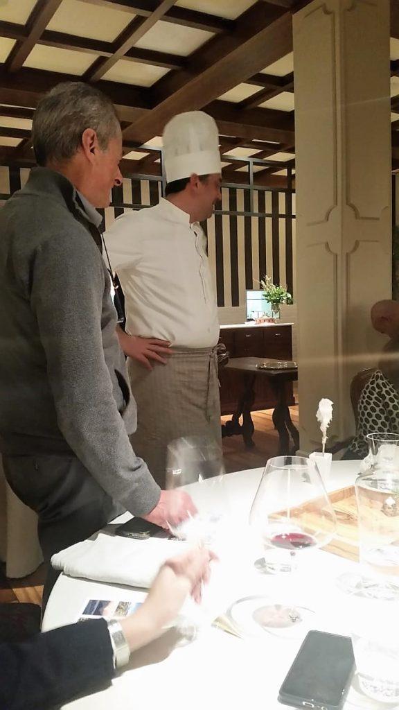 lo Chef stellato Roberto Rossi