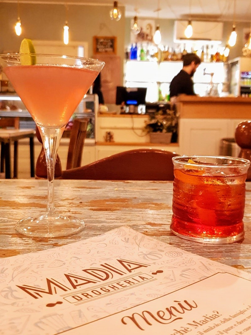 madia bistrot cocktail